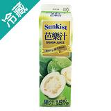 SUNKIST 芭樂果汁 900ML/瓶
