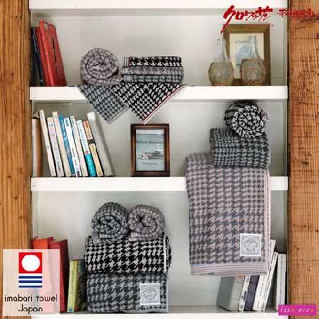 【クロワッサン科羅沙】日本ISSO ECCO今治(imabari towel)~無撚千鳥格方巾 34*35cm