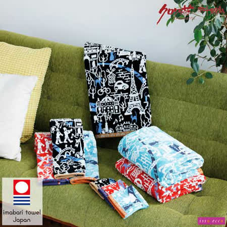 【クロワッサン科羅沙】日本ISSO ECCO今治(imabari towel)~無撚巴黎遊浴巾 70*140cm