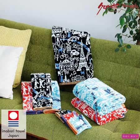 【クロワッサン科羅沙】日本ISSO ECCO今治(imabari towel)~無撚巴黎遊方巾34*35cm