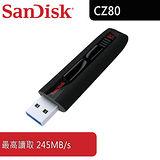 SanDisk Extreme USB 3.0 CZ80 128GB USB3.0 隨身碟 (SDCZ80-128G)