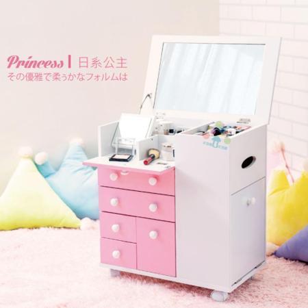 馬卡龍系列日系公主化妝車