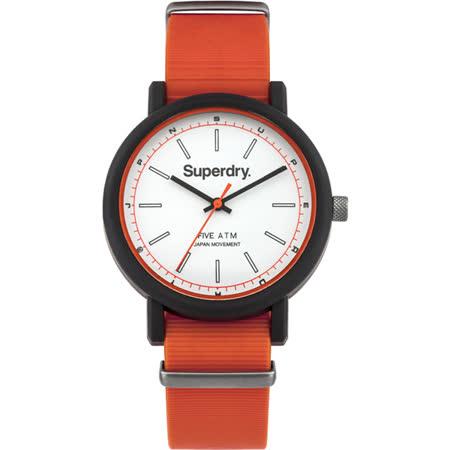 Superdry極度乾燥 青春邁進運動腕錶-SYG197O