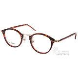 STEADY眼鏡 日本手工製造(紅琥珀-金) #STDF16 C02