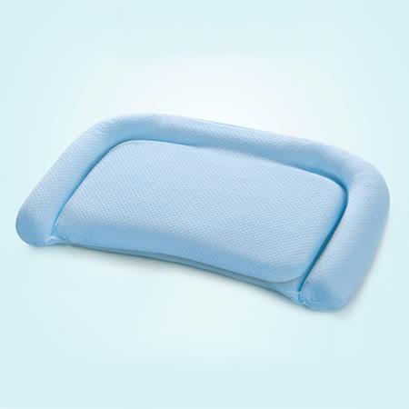 義大利Fancy Belle《多功能舒眠透氣兒童記憶枕》-藍