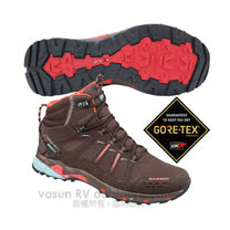 【瑞士 MAMMUT 長毛象】女T Aenergy Mid GTX 中筒 超輕量多功能鞋 登山健行/GORE-TEX / Gripex鞋底 3020-05620 咖啡