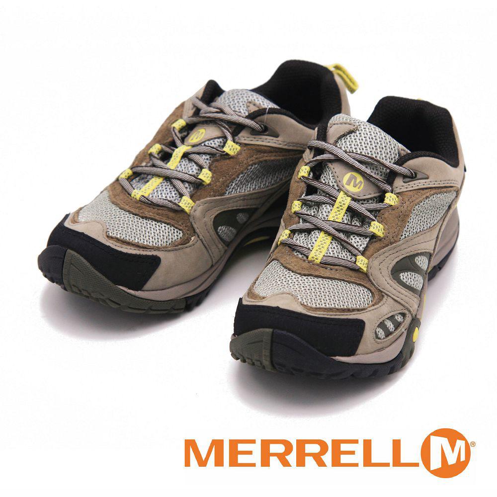 MERRELL AZURA GORE-TEX 登山健行多功能鞋 女鞋-卡其(另有紫褐/粉/灰)