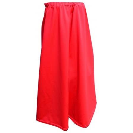 馬卡龍涼感遮陽圍裙TT501紅色