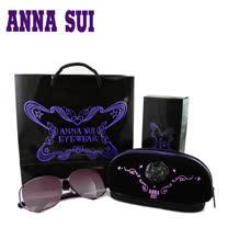 Anna Sui 日本安娜蘇花園系列太陽眼鏡禮盒組-(紫色) AS880-735