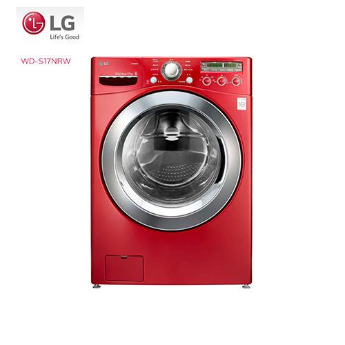夜殺^~~LG 樂金~ 17公斤6 Motion蒸氣滾筒洗衣機 WD~S17NRW ^~加