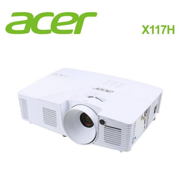 ACER  宏碁 X117H SVGA 家庭歌劇院投影機 -送原廠雷射筆