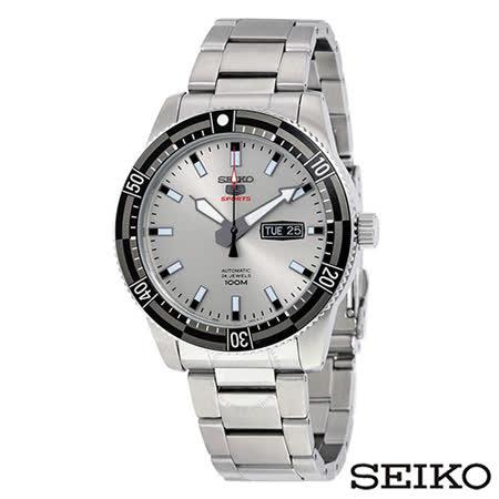 SEIKO精工  5號運動型自動寶石男錶 SRP729K