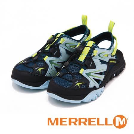 MERRELL 水陸兩棲鞋CAPRA RAPID SIEVE涼鞋 女鞋-綠(另有灰)
