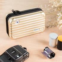 多功能迷你旅行箱造型收納包(7色可選)