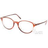 OLIVER PEOPLES眼鏡 別緻氣質款(透棕紅) #MAREEN 1574
