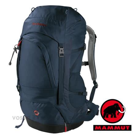 【瑞士 MAMMUT 長毛象】新型 Creon Pro 40L網架式超透氣登山健行背包(附防水背包套.3段式人體工學背帶).旅遊休閒/01981-5612 太空藍