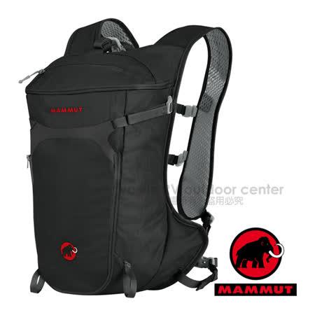 【瑞士 MAMMUT 長毛象】新款 Neon Speed 超輕量舒適登山健行攀登背包15L(410g).行動攻頂包/水袋兼容 03180-0001 黑