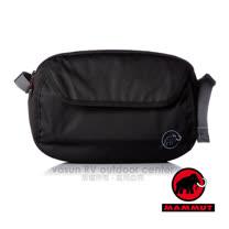 【瑞士 MAMMUT 長毛象】Add-on Chest Bag 快拆式胸前包(可當腰包/附防雨罩)_登山胸前袋.外掛登山背包.自助旅行00091-0001黑