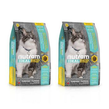 Nutram 紐頓 專業理想系列-I17室內貓化毛貓雞肉燕麥 1公斤 X 2包