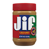 JIF香滑花生醬454g