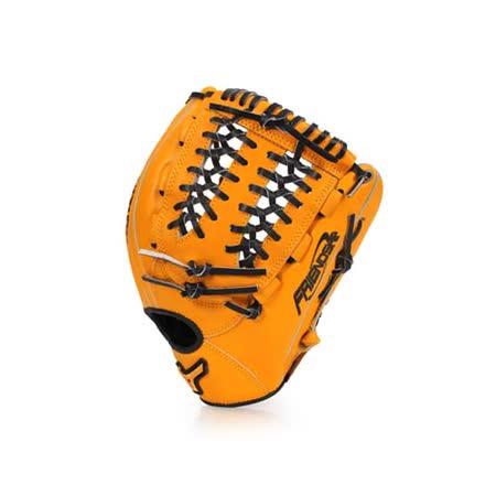 MIZUNO 壘球手套-棒球  美津濃 黃黑 F