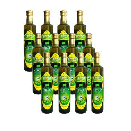 即期品LugliO義大利羅里奧特級有機初榨橄欖油(500ml*12入組)