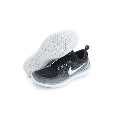 NIKE 男鞋 慢跑鞋  FREE RN DISTANCE 2 黑灰 - 863775001