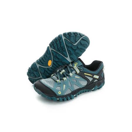 Merrell 女鞋 慢跑鞋  綠黑 - ML37660