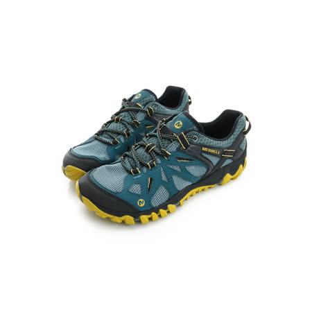 Merrell 男鞋 慢跑鞋  黑藍黃 - ML37689