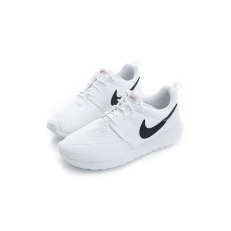 NIKE 大童鞋 慢跑鞋  ROSHE ONE  白黑 - 599728101
