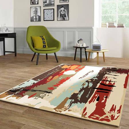 范登伯格 德納以色列製抽象意境地毯-揮灑-165x235cm
