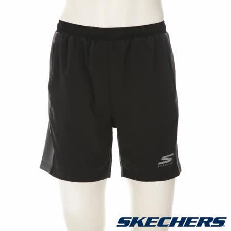 SKECHERS 男短褲 - GMPSH243BLK