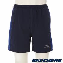 SKECHERS 男短褲 - GMPSH245BLUE