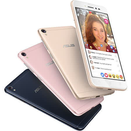 ASUS ZenFone Live ZB501KL (2G/16G) 5吋美顏直播智慧型手機- 隨貨附贈腳架◆贈四角強化空壓殼+保護貼+指環支架+韓版收納包+奈米噴劑
