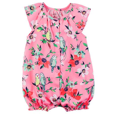 美國 Carter / Carter's 嬰幼兒無袖連身衣_小花小鳥(CTRMG020)