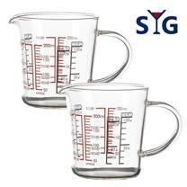 SYG精緻耐熱量杯200cc-BMG200二入組