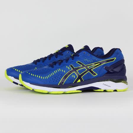 ASICS 男 GEL-KAYANO 23 慢跑鞋 藍 T646N4907