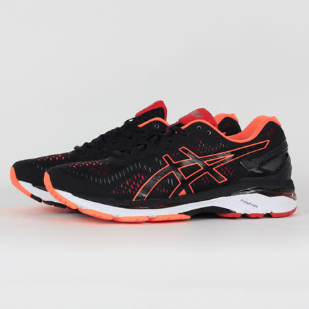ASICS 男 GEL-KAYANO 23 慢跑鞋 黑 T646N9030