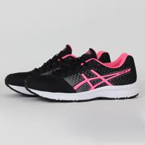 ASICS 女 PATRIOT 8 慢跑鞋 黑 T669N9020
