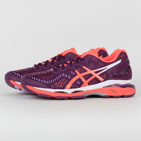 ASICS 女 GEL-KAYANO 23 慢跑鞋 紫紅 T696N3206