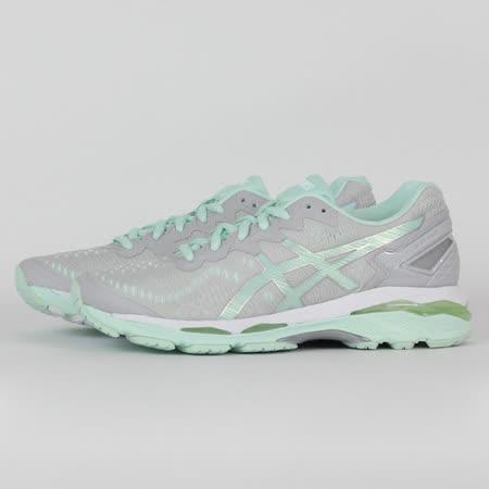 ASICS 女 GEL-KAYANO 23 慢跑鞋 灰 T696N9687