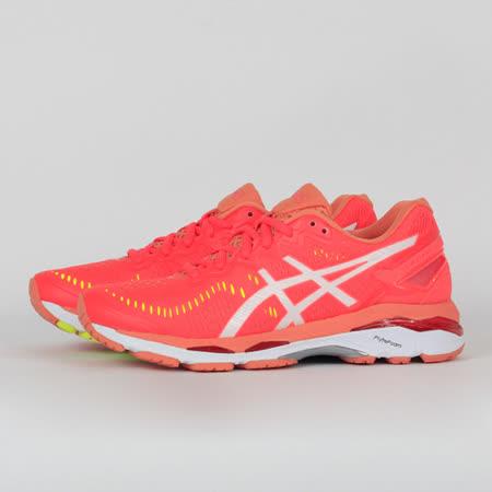 ASICS 女 GEL-KAYANO 23 (D) 慢跑鞋 紅 T697N2001