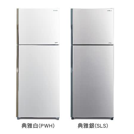 【結帳優惠價】HITACHI日立414公升變頻雙門冰箱RV439