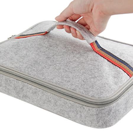 PUSH! 餐具用品保溫飯盒便當盒保溫提袋1入(小號)E89
