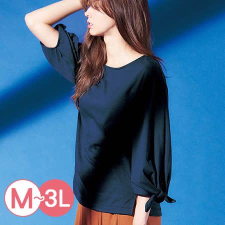 日本ANNA LUNA 預購-簡雅綁結袖口上衣(共五色/M-3L)