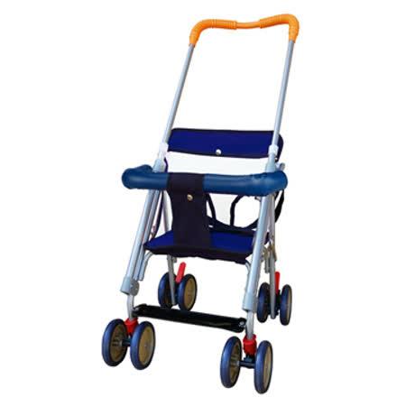 EMC可推式幼兒椅(藍/橘)