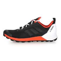 (男) ADIDAS TERREX AGRAVIC SPEED 登山鞋-健走 越野 黑白橘