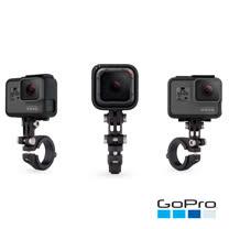【GoPro】專業把手/座桿/滑雪桿固定座 AMHSM-001 (忠欣公司貨)