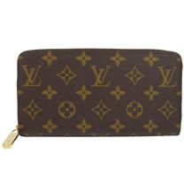 Louis Vuitton LV M41895 ZIPPY 新版經典花紋拉鍊長夾.紫紅色 現貨