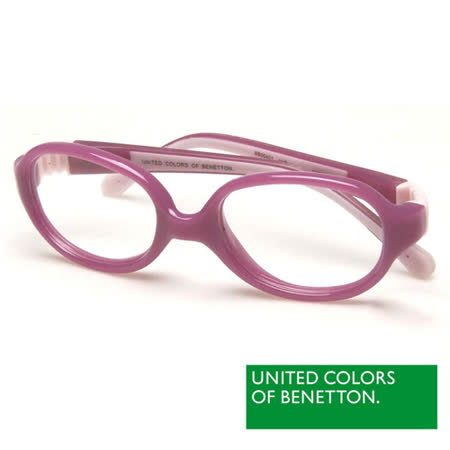 BENETTON 班尼頓 專業兒童眼鏡安全高韌性系列(藍/紅/黃/紫 BB004-01/02/03/04)